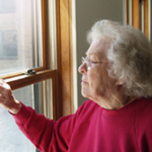Mary is one of the many homebound elderly who receive meals delivered by Citymeals-on-Wheels